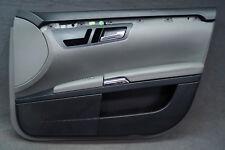 Mercedes S-Klasse W221 Türverkleidung Tür vorne rechts Leder Grau Türpappe /MS