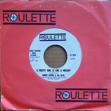 SONNY LESTER - PRETTY GIRL IS LIKE A MELODY - ROULETTE 45 - WHITE LBL PRO - 1962