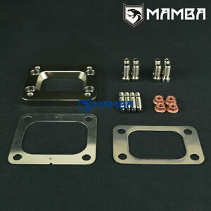 Garrett T3 to T4 single entry / Scroll turbo exhaust manifold flange adaptor kit