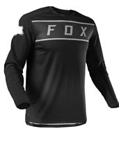 New 2021 Fox Legion Enduro Jersey Shirt Black/Grey Size X-Large