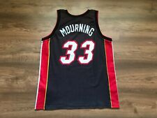 NBA MIAMI HEAT BASKETBALL SHIRT JERSEY CHAMPION #33 ALONZO MOURNING