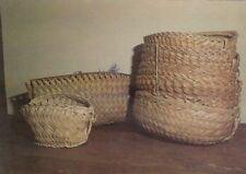 Coconut Baskets Edobo Temengil Palau? Vintage Postcard