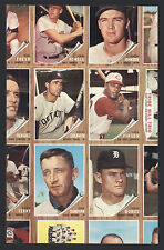 1962 Topps partial baseball sheet with Rocky Colavito. NM-MT surface.