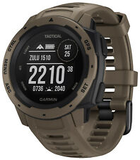 Garmin Instinct Tactical Outdoor-Smartwatch Light Brown 010-02064-71