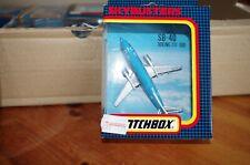MATCHBOX SKYBUSTERS AVION SB-40 BOEING 737 300 KLM NEUF EN BOITE