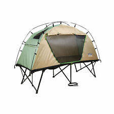 Kamp-Rite CTC Standard Compact Collapsible Backpacking Camping Tent Cot, Tan