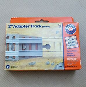 Lionel 2 Inch Adapter Track Great Railroad Adventures Wooden Clickity Clack