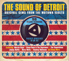 THE SOUND OF DETROIT - ORIGINAL GEMS FROM THE MOTOWN VAULTS  (NEW SEALED 2CD)