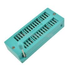 2Pcs Narrow-Body 32P 32Pin 2.54Mm Universal Zif Dip Tester Ic Test Socket 3M
