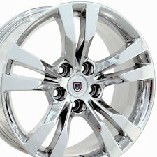 """18"""" Wheels for Cadillac CTS Years 2014-2015 18x8.5 Inch Chrome Rims Set of 4"""