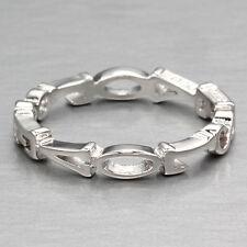 Stunning Love, Love, Love Sterling Ring ~ Size 7