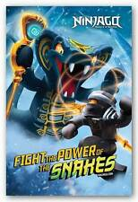 VIDEO GAME POSTER Lego Ninjago Power of Snakes