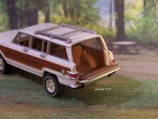 JEEP WAGONEER COLLECTIBLE 1/64 SCALE DIECAST REPLICA MODEL DIORAMA OR DISPLAY