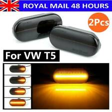 1Pair For VW T5 Dynamic Flowing LED Side Marker signal Light Indicator Repeaters