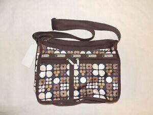 LeSportsac Classic Messenger Bag Jax Comes with Make Up Bag NWoT 19x9x5