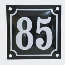 Hausnummer-Schild mit  Wunschtext NEU Acrylglas weiß groß 300 x 250 mm