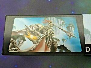 "HCandD Game Supplies Game Mat - Dragon Rider 24"" x 14"""
