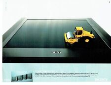 PUBLICITE ADVERTISING 126  1998    Sony   téléviseur écran plat