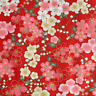 Japanese oriental Sakura Cherry Blossom fabric craft cotton fat quarter FQ#F0002