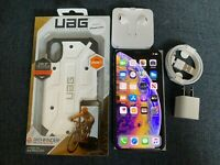 Apple iPhone XS - 64GB - Silver (Unlocked) A1920 (CDMA + GSM) |All in 1 Package|