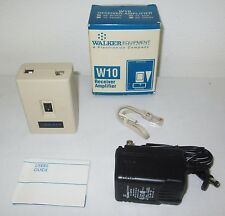 New Still-In-Its-Box Walker W10 (44 Ash) Receiver Amplifier With Accessories !!