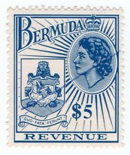 (I.B) Bermuda Revenue : Duty Stamp $5