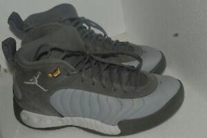 JORDAN JUMPMAN PRO 906876-043 Sneakers Men size 10 Gray Used Very Good Condition