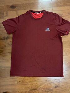Adidas Climalite Mens L Lightweight T Shirt