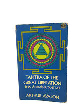 1972 Spirituality Tantric Worship Book: Tantra Of The Great Liberation By Avalon