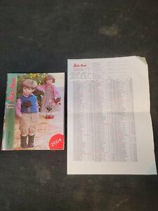 Kathe Kruse Friends Forever Doll Catalog 2004 USA Edition w/ Price Sheet List