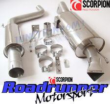 """Scorpion Corsa VXR exhaust 3"""" Cat Back A résonné Système Inoxydable Silencieux SVX054"""