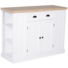 Kitchen Serving Island Storage Cabinet with Drawer and Cabinet Home style