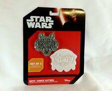 "New listing ThinkGeek Disney Star Wars Set of 2 ""Hoth"" Cookie Cutters Wampa & Tauntaun New"