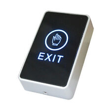 Wall Mount Touch Sensor Exit Button Switch NC NO COM For Door Access Control RO