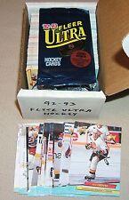 1992 1993 FLEER ULTRA COMPLETE SERIES 1 HOCKEY SET*PSA READY NHL ROOKIES*LINDROS