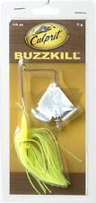 Buzz Bait 1/4 oz Chartreuse Green Culprit BuzzKill Spinner Bait Fishing Lure 123