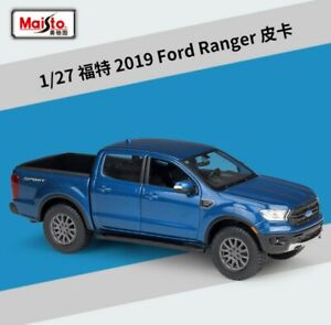 Welly 1:24 2019 Ford Ranger Pickup Truck Car Metal Diecast Model Toy New in Box