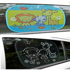 Clippasafe 2 Pack Fun Sun Shade Maker Baby Car Safety Glare Ray Parasol Screen
