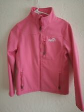 e6cf81a72f6c Only Slightly used Pink Puma Jacket for Girls Size L