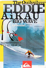 2002 Mint Original Eddie Aikau Waimea Hawaii Big Wave Surfing Contest Poster
