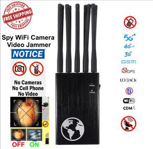 5G Anti Drone system Signal 2G 3G 4G LTE GPS WiFi Anti spy self security tool