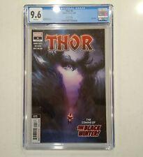 THOR #4 CGC 9.6 NM+, 2nd print; 1st Black Winter cover, Marvel Comics 8/2020