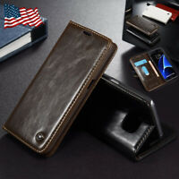For Samsung Galaxy S7/ S7 Edge Leather Wallet Card Holder Flip Cover Stand Case