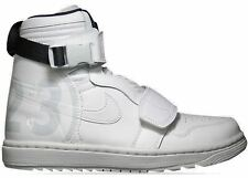 Air Jordan 1 Moto All White Off Retro OG High Men's Size 12 Logo 23 Jumpman Wing