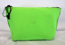 IDEOLOGY Apple Green Neoprene LG Pouch Top Zip Bag Msrp $38.99