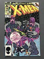 Uncanny X-Men #202, VF/NM 9.0; Phoenix vs. Beyonder