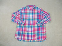 Southern Tide Button Up Shirt Adult Extra Large Pink Long Sleeve Casual Mens B2