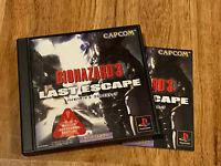 Biohazard 3 Last Escape (Resident Evil Nemesis)JAPAN Ver PS1 PlayStation 1