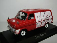 NOREV FORD TRANSIT 1965 RED THE SUPERVAN 1/43 270521