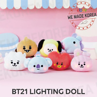 BT21 Baby Lighting Bagcharm Doll Keyring 7types Official K-POP Authentic Goods